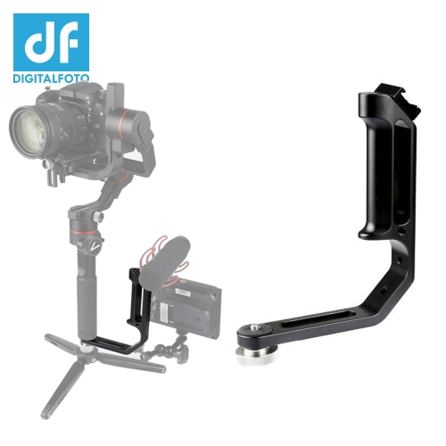 M-0667II universal L bracket with cold shoe mount for single handle gimbal